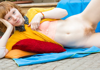 Emma B in Fingering Outdoors by Abby Winters (nude photo 12 of 16)