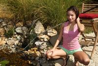 Anita Bellini in Pond Skimming (nude photo 1 of 16)