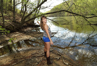 Kimmy Granger in Babbling Brook by All Ladies Shaved (nude photo 1 of 16)