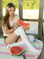 Dominika in Watermelon by Amour Angels (nude photo 3 of 20)