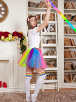 Raisa in Rainbow Girl by Amour Angels (nude photo 1 of 20)