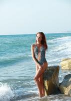 Kesy Nude on the Beach (nude photo 3 of 15)