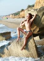 Kesy Nude on the Beach (nude photo 12 of 15)