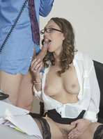 Jade Nile in The Conference Call by Babes.com (nude photo 4 of 16)
