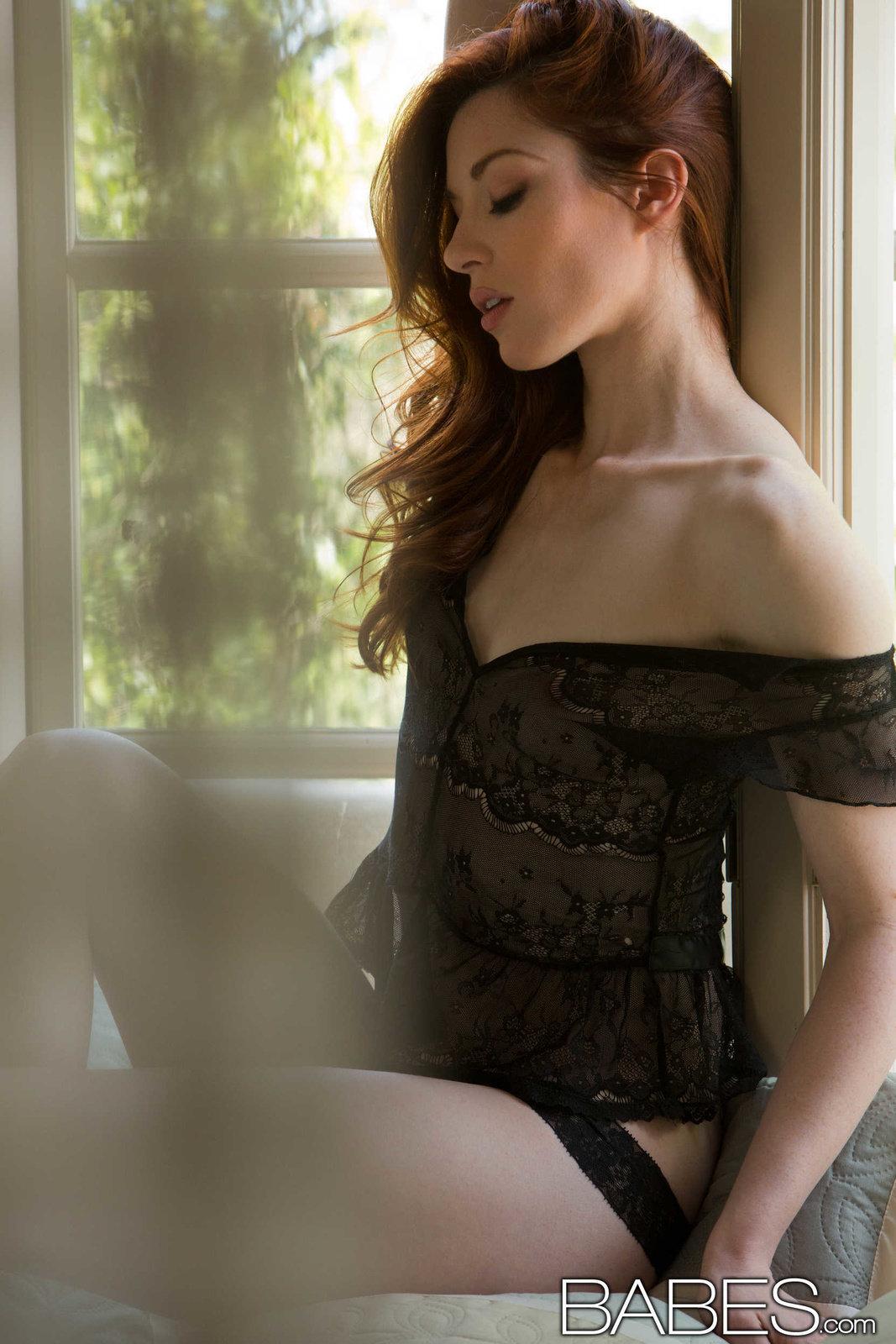 Babes stoya black lingerie