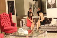 Caprice and Bella Rose in Erotic Party by Colette (nude photo 1 of 16)