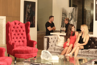 Caprice and Bella Rose in Erotic Party by Colette (nude photo 2 of 16)