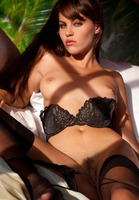 Victoria Valmer in Black Stockings (nude photo 11 of 16)
