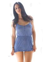 Jasmine Caro in Purple Dress by Digital Desire (nude photo 1 of 16)