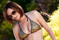 Dakota Rae pulls off her bikini and bares her beautiful body (nude photo 1 of 17)