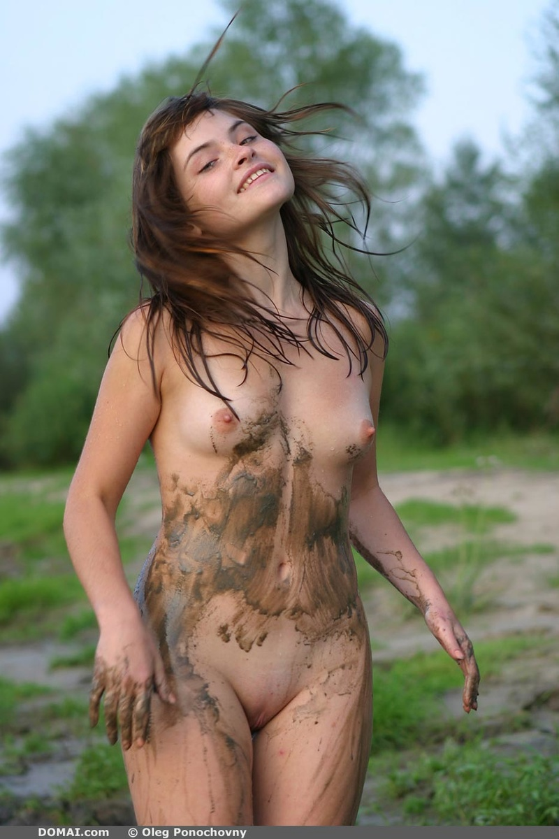 Ann In Mud Bath By Domai 16 Photos  Erotic Beauties-7891