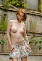 Clelia in Naked Girl Outdoors by Domai (nude photo 2 of 16)
