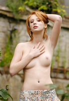 Clelia in Naked Girl Outdoors by Domai (nude photo 3 of 16)