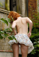 Clelia in Naked Girl Outdoors by Domai (nude photo 6 of 16)