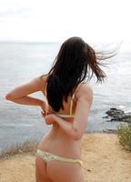 Georgia Jones On The Beach (nude photo 2 of 16)