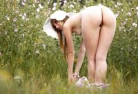 Sasha J in The Meadow by Erotic Beauty (nude photo 3 of 16)