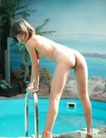 Tiny erotic teen Erene (nude photo 1 of 16)