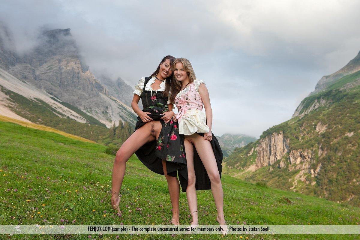 Mountain Girl Porn
