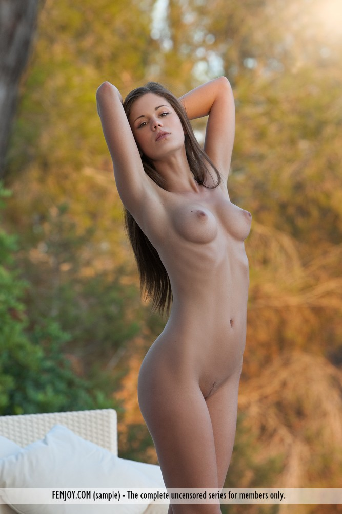 Busty college nude at least nude