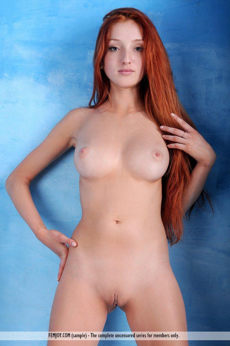 Redhead Female Nude