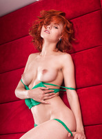 Rada P in Red (nude photo 6 of 16)