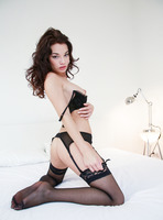 Nici Dee from Femjoy in stockings and suspenders (nude photo 7 of 16)