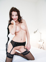Nici Dee from Femjoy in stockings and suspenders (nude photo 8 of 16)