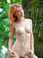 Mia Sollis in Red Beauty (nude photo 2 of 16)