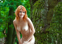 Mia Sollis in Red Beauty (nude photo 3 of 16)