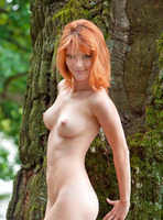 Mia Sollis in Red Beauty (nude photo 5 of 16)