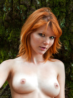 Mia Sollis in Red Beauty (nude photo 10 of 16)