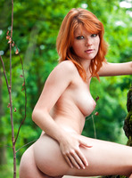 Mia Sollis in Red Beauty (nude photo 13 of 16)