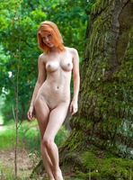 Mia Sollis in Red Beauty (nude photo 15 of 16)