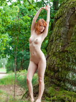 Mia Sollis in Red Beauty (nude photo 16 of 16)