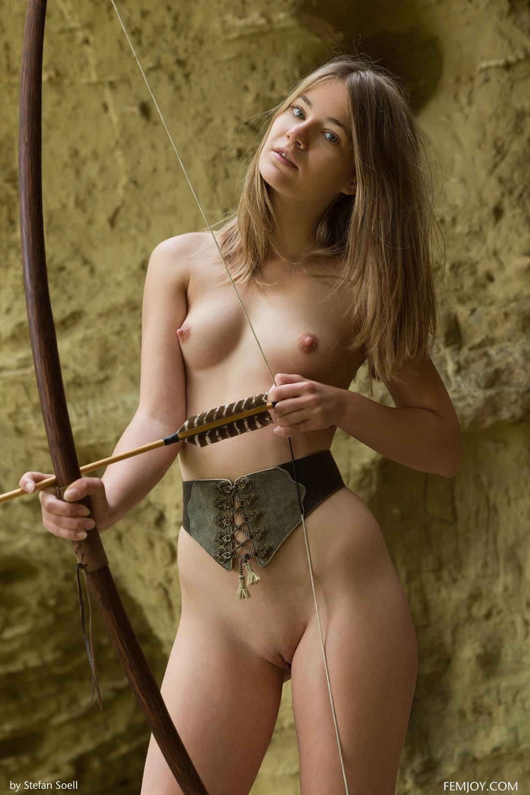 Nastya H In Nude Hunter By Femjoy 12 Photos  Erotic
