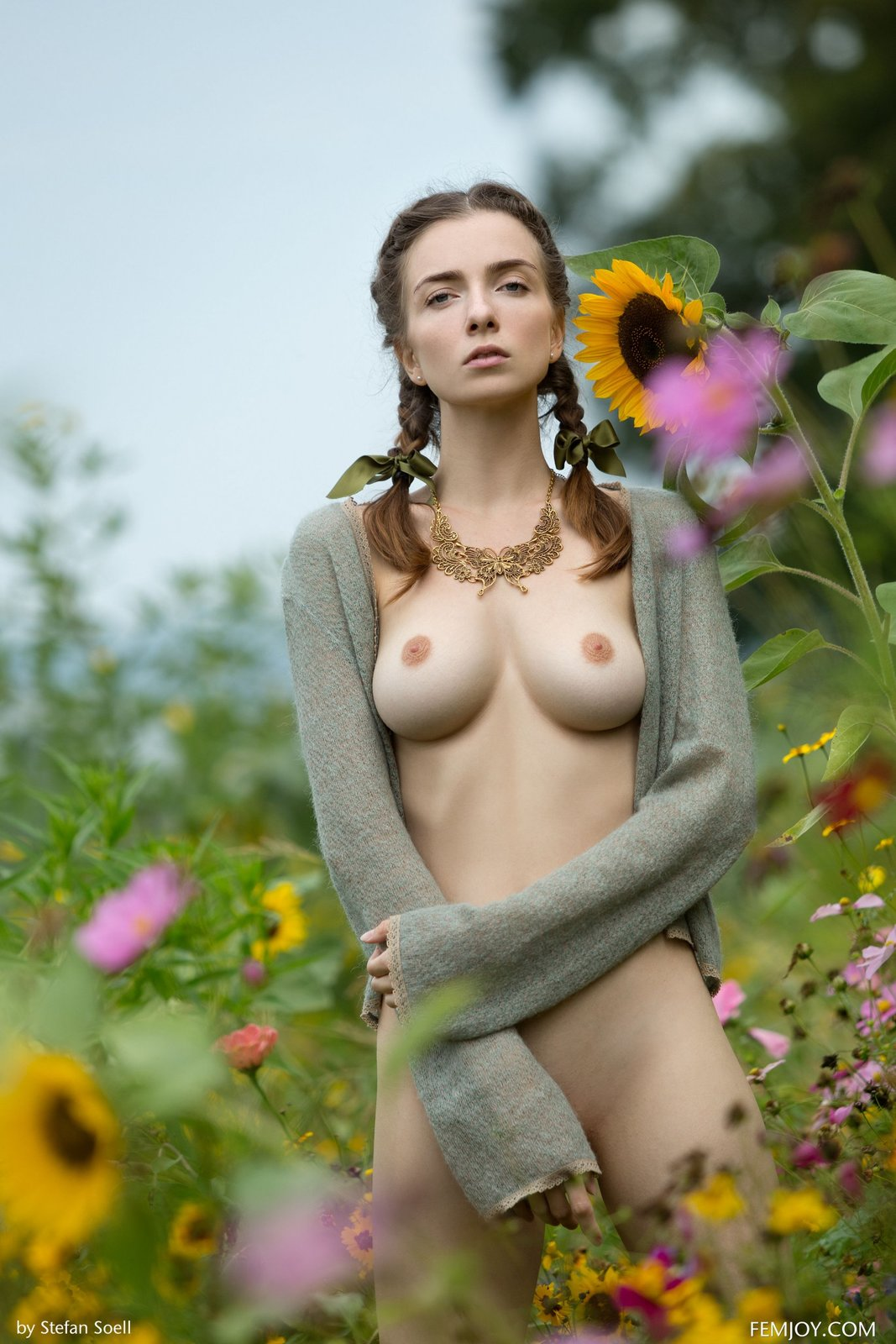Mariposa in Sunflower by Femjoy (12 photos) | Erotic Beauties
