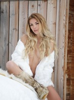 Amber A in A Hot Winter Day by Femjoy (nude photo 2 of 16)