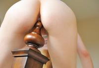 Brea teasing in her panties (nude photo 7 of 15)