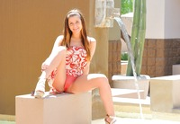 Nicole in The Wet Teen Part 2 (nude photo 1 of 16)