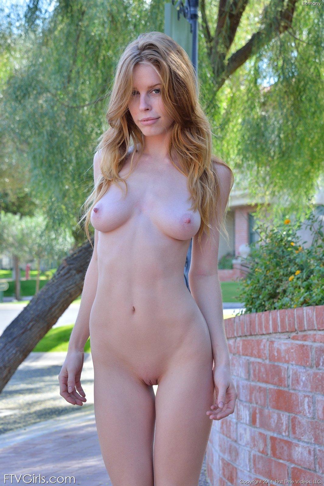 Pornstars naked in public