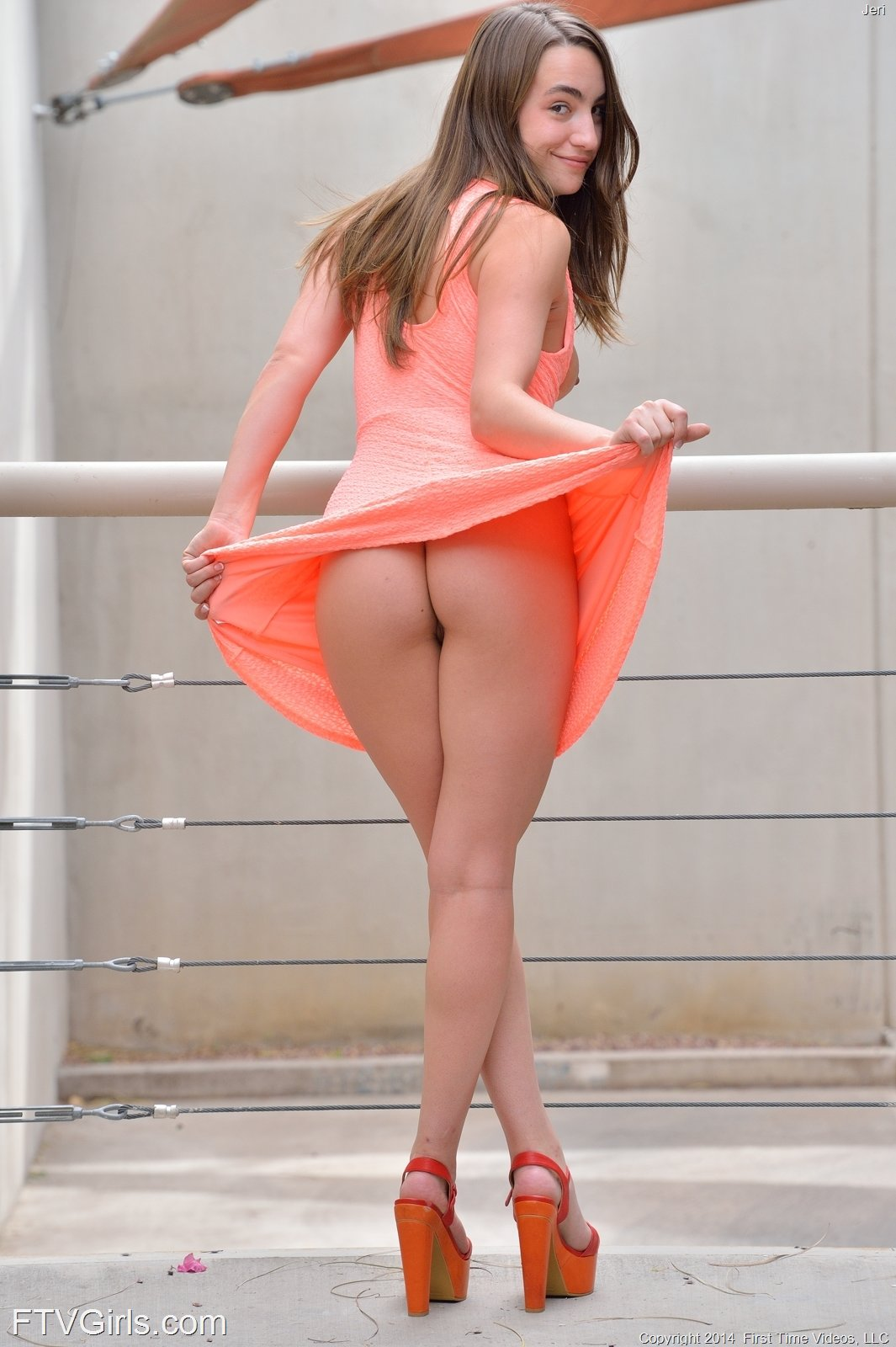 Jeri From Ftv Girls Showing Upskirts In Public 16 Photos -6250