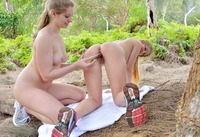 FTV Girls Nicole & Veronica in Horny Nude Hikers (nude photo 15 of 16)