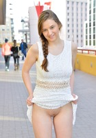 New FTV girl Ellie in Pretty Teen Whites (nude photo 10 of 16)