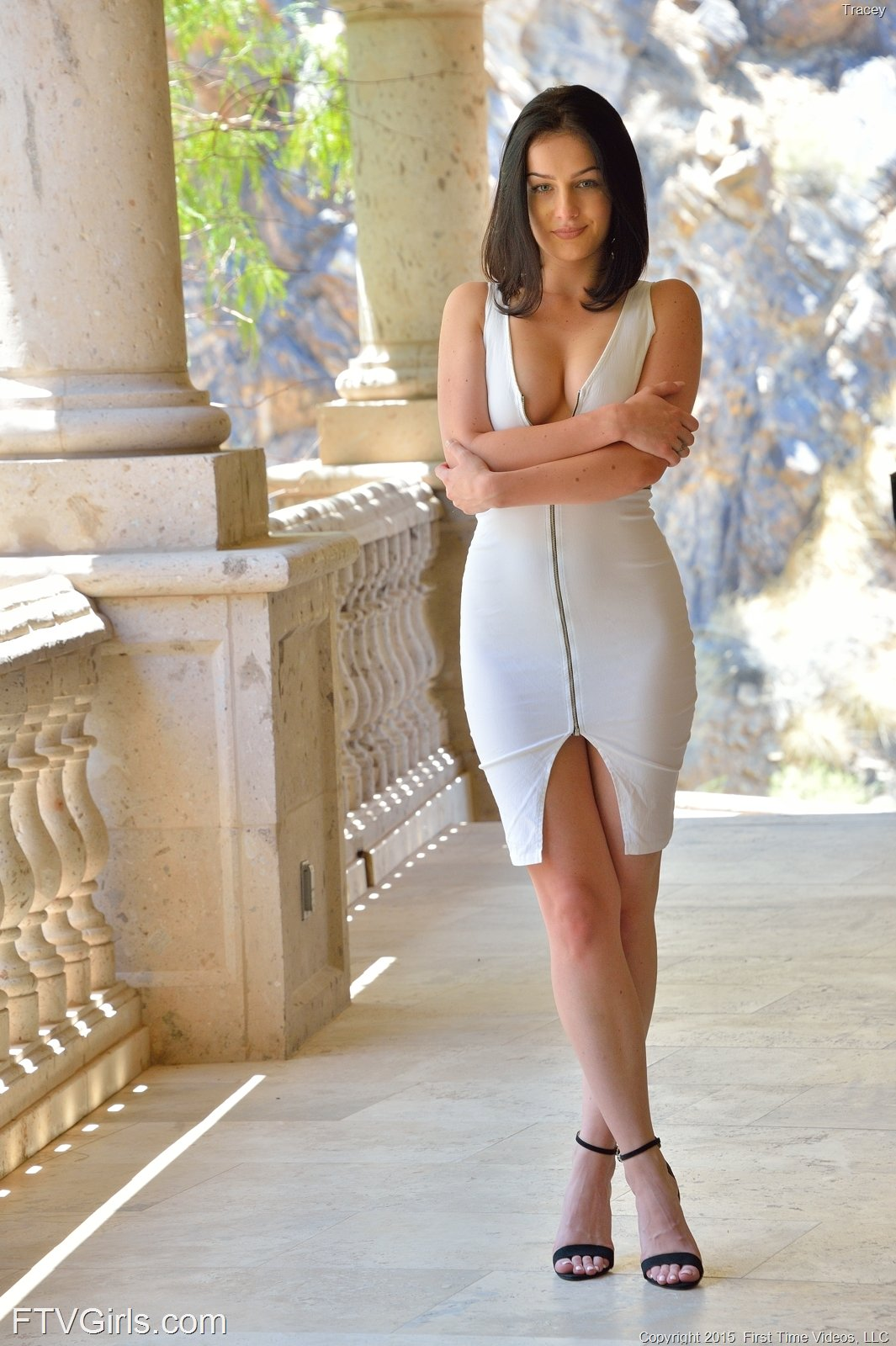 Tracy in The Dressy Side by FTV Girls (16 photos + video ...