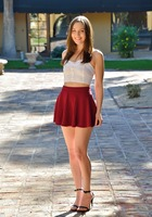 Brooke in Miniskirt Hottie by FTV Girls (nude photo 1 of 16)