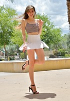 Eva in Her Miniskirt And Heels by FTV Girls (nude photo 11 of 16)