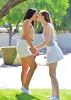 Eva and Violet in Two Girls Next Door by FTV Girls (nude photo 1 of 16)