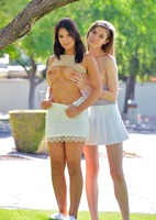 Eva and Violet in Two Girls Next Door by FTV Girls (nude photo 2 of 16)