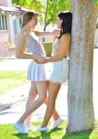 Eva and Violet in Two Girls Next Door by FTV Girls (nude photo 3 of 16)
