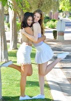 Eva and Violet in Two Girls Next Door by FTV Girls (nude photo 4 of 16)